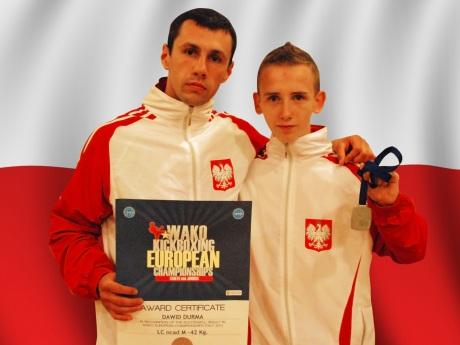 """Bolesław """"Bolek"""" Nowak i Dawid """"Mamut"""" Durma OKT Otwock Kick-boxing Team"""